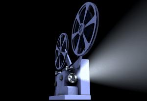 פתיח בסגנן מקרן קולנוע
